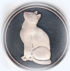 Silber-Medaille von Birgitta Kuhlmey für ehrenamtliche Tätigkeit für den Tierschutz
