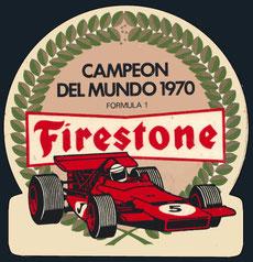 Campeon del Mundo 1970 Firestone
