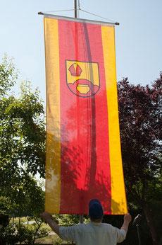 Die Albersloher Fahne (1,20 m x 3 m)