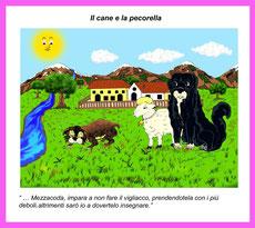 Il cane e la pecorella