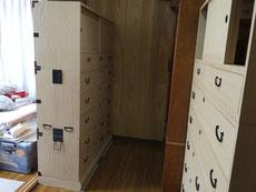 本来なら豊田に納品の桐タンスでした。