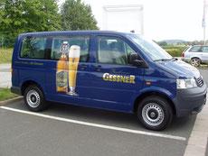 Fahrzeugbeschriftung Gessner