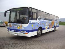 Fahrzeugbeschriftung Omnibus