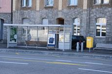 Haltestelle Herdernstrasse (Richtung Hardplatz)