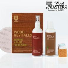 UCare MIDI Wood Revitalizing Kit (für Naturholz)