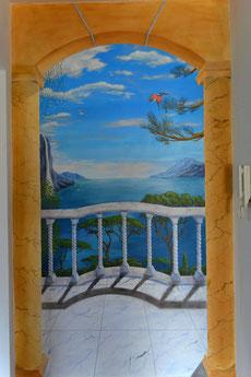 Wandmalerei 250*140cm