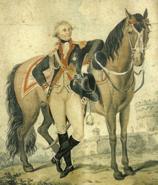 Henri-Adrien fut capitaine de Dragons de Tongerloo
