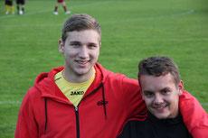 Lukas - nach 8 Jahren mal wieder in einer Fußballmannschaft