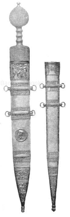 Gladius römisches Schwert aus Deutschland Bodenfund Ausgrabung