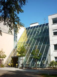Fischer Metallbau GmbH Freihängende Stahl-Fassade