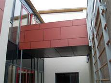 Fischer Metallbau GmbH Verkleidete Brücke