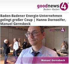 Hanno Dornseifer, Vorstandsmitglied der saarländischen VSE AG | Manuel Gernsbeck, Vorstand MEG im Interview