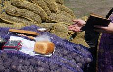 Освящение полей и семян 18.04.2013 г