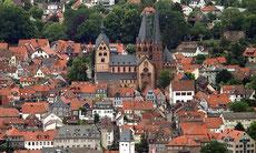 Marienkirche und Altstadt von Gelnhausen