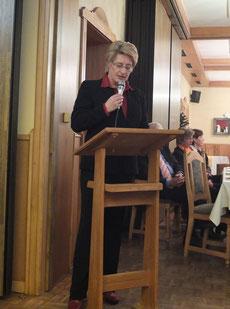 Frau Kannenberg vom Vorstand des ADAC Niedersachsen/Sachsen-Anhalt