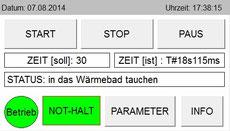 Temperaturwechseltest zur künstlichen Alterung von Dentalproben Temperatur Cycle Test Joachim Wilhelm Engineering