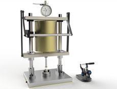 Joachim Wilhelm Engineering Druck-Fließfähigkeitmessung von Abformmaterialien Shark Fin Test