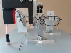 Glasses Sun Glasses Spectacles Frames Ophthalmic Optics Eye Protection Test ISO 166 167 168 12870 12472 Test Equipment
