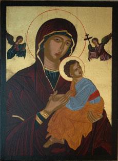 Muttergottes der Passion, 41 x 29,5 cm, 2009