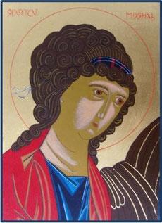 Erzengel Michael, 30 x 21 cm, 1998