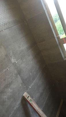 屯門裝修 - 洗手間鋪磚