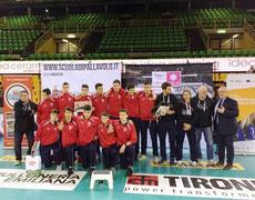 UNDER 16 premiata al Torneo Anderlini di Modena