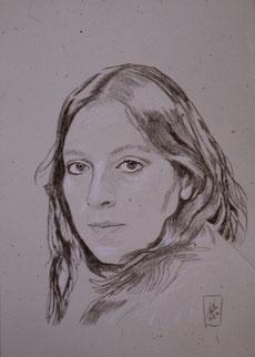 Pencil drawing (1986)