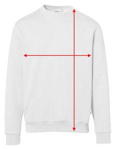 Strichpunkt Shirts Masstabelle