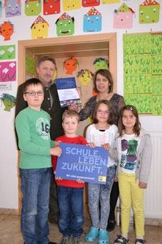 Schule.Zukunft.Leben. - Auszeichnung für gute Zusammenarbeit zwischen Schule und Gemeinde.