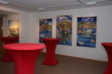 In der Kieler Austellung (Fotos: Rudolf Krummenohl)