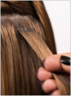 Haarverlängerung Laserbeamer Nano Bonds