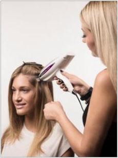 Haarverlängerung Laserbeamer Nano Anmodulieren