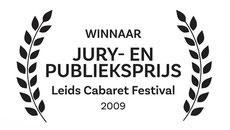 winnaar juryprijs publieksprijs Leids Cabaret Festival 2009