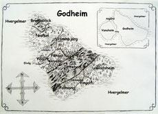 Kontinent Godheim auf dem Planeten Godheim.