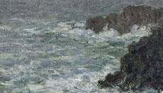 Monet, Belle île en mer.