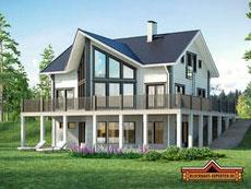 Blockhäuser in Nordrhein Westfalen - Holzhäuser in Köln - Blockhausbau - Holzbau - Hausbau - Architektenhaus