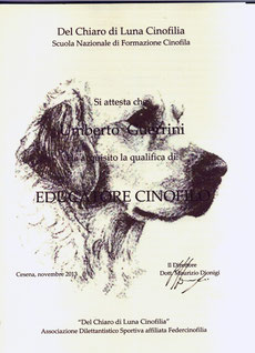 Del chiaro di Luna Cinofilia & Passion for Dogs