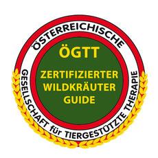 Logo der OEGTT zertifizierten Wildkräuterguides