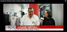 Radio Pilatus Julius Nötzli Chlefele Carla Keller