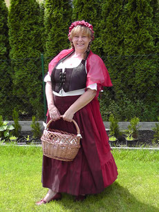 Kostümführung mit Ella Anna Raddatz der königlichen Marktfrau mit Berliner Schnauze
