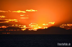 Neuseeland - Motorrad - Reise - Palliser Bay - Camping - Sonnenuntergang