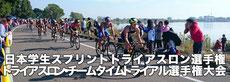 日本学生スプリントトライアスロン選手権 兼 トライアスロンチームタイムトライアル選手権大会