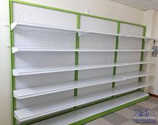 Góndolas metálicas para supermercados y tiendas
