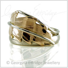Oak Leaf Bespoke Rings - Bespoke Custom Commissions Made to Order