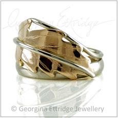 Oak Leaf Bespoke Rings - Bespoke Custom Commissions Made to Order