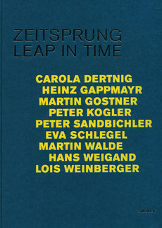 Buch / Katalog: Zeitsprung. Leap in time.