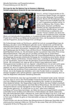Presseinformation vom 22.05.2013