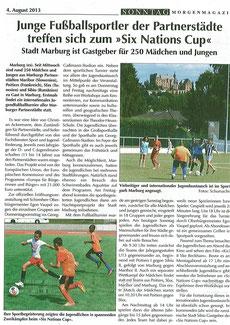 04.08.2013 Sonntag Morgenmagazin
