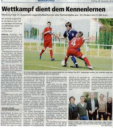 Oberhessische Presse v. 28.12.2012