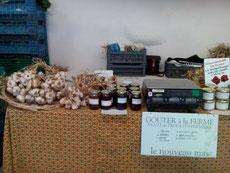 Nos produits au marché du Vigan tous les samedis